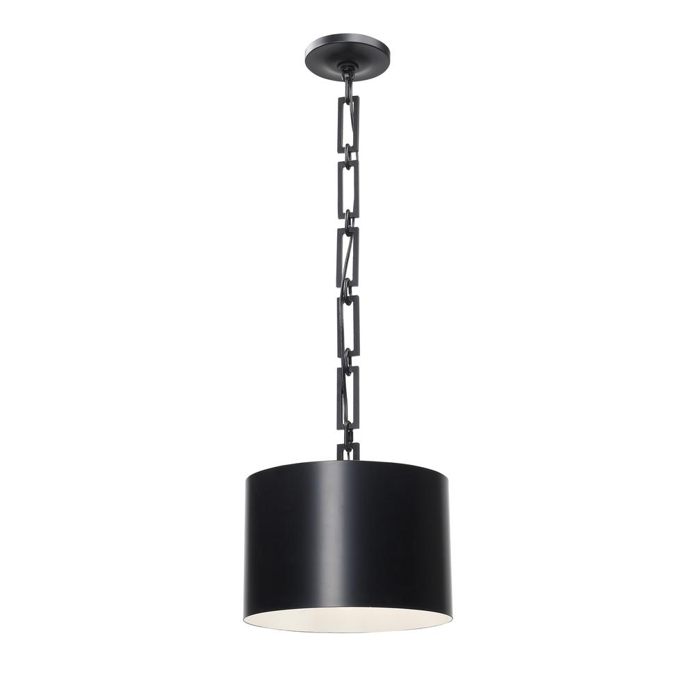industrial modern lighting. 1 Light Matte Black Eclectic Industrial Modern Mini Chandelier Lighting