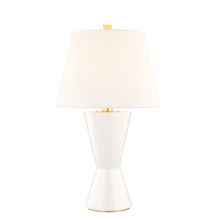 Hudson Valley L1042-MW - 1 LIGHT LARGE TABLE LAMP