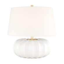 Hudson Valley L1049-WH - 1 LIGHT LARGE TABLE LAMP