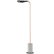 Mitzi by Hudson Valley Lighting HL157401-POC/BK - 1 Light Floor Lamp With A Concrete Base