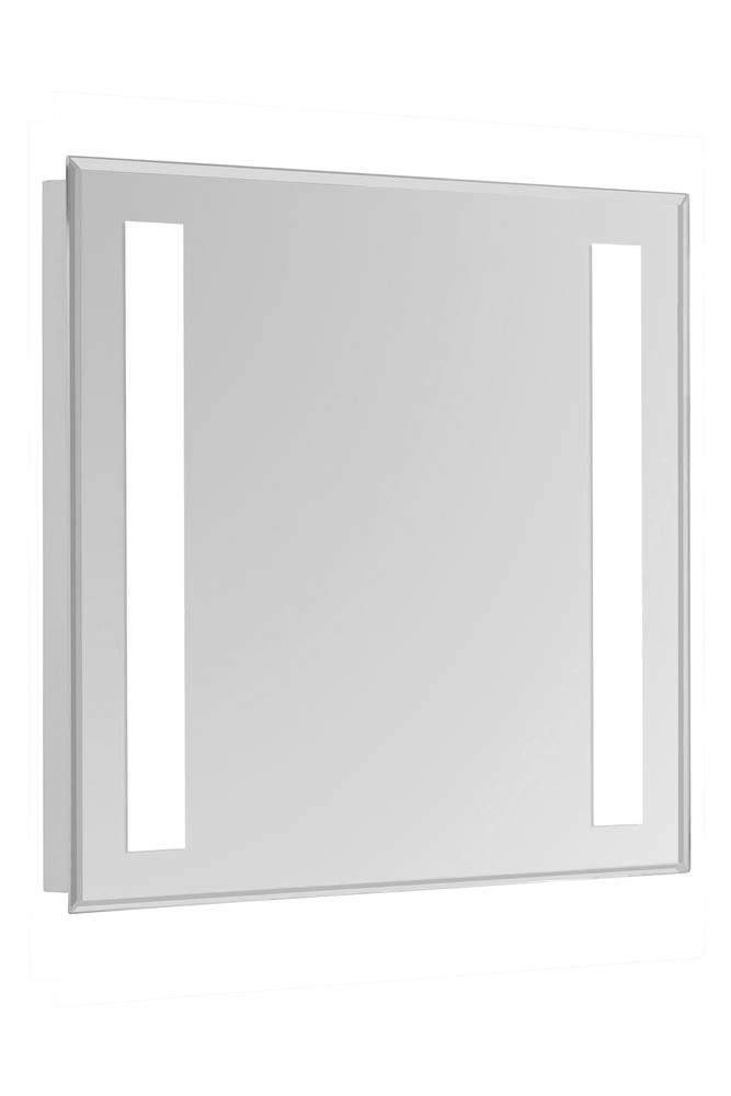 2 Sides LED Hardwired Mirror Rectangle W20H30 Dimmable 5000K
