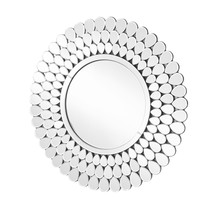 search results cajun electric lighting Light Kitchen Cabinets elegant mr9156 sparkle 31 5 in contemporary round mirror in clear